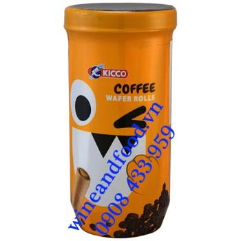 Bánh quế cà phê Kicco 120g
