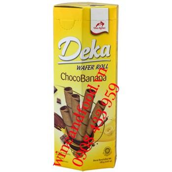 Bánh quế ChocoBanana Deka hộp 125g