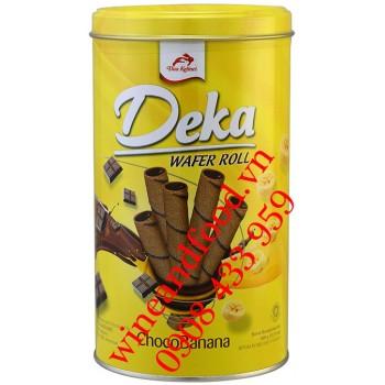 Bánh quế ChocoBanana Deka hộp 300g
