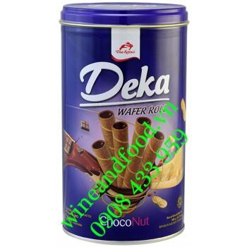 Bánh quế ChocoNut Deka hộp 360g
