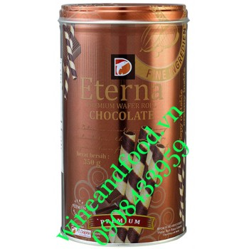 Bánh quế Eterna kem socola 350g
