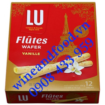 Bánh quế Flutes Wafer Vani LU 234g