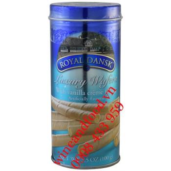 Bánh quế Luxury Wafers Vani Royal Dansk 100g
