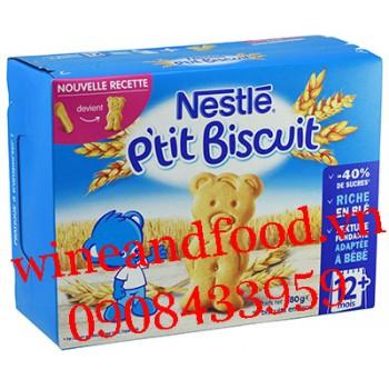 Bánh ăn dặm P'tit Biscuit Nestle 12 tháng 180g