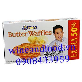 Bánh bơ nướng Julies Extra 50% 50g
