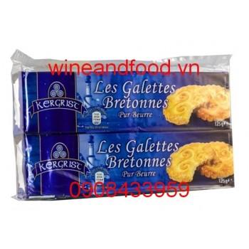 Bánh quy bơ Les Galettes Bretonnes Kergrist 125g
