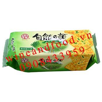 Bánh quy lạt hành lá Chung Hsiang 140g
