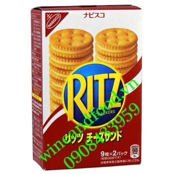 Bánh Ritz Nhật hộp 160g
