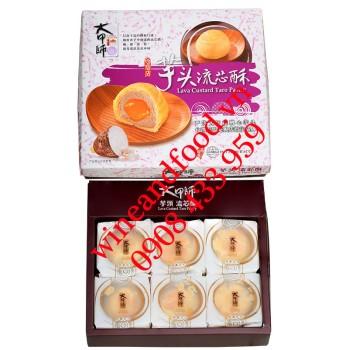 Bánh ngàn lớp nhân khoai Môn trứng muối chảy Đài Loan Tachia Master