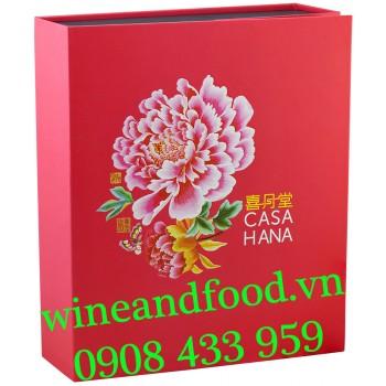Bánh Trung Thu Casahana Celestial Garden hồng