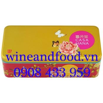 Bánh Trung Thu Casahana Joy (Duo) Gold hộp 2 bánh
