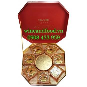 Bánh Trung Thu Hongkong Mei-Xin Lục Giác hộp quà