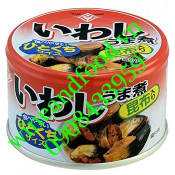 Cá mòi đóng hộp Nhật Bản Iwashi Umani 140g