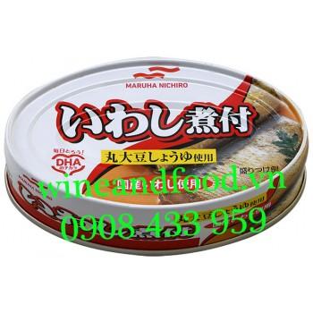 Cá mòi hấp nước tương và Gừng Maruha Nichiro 100g