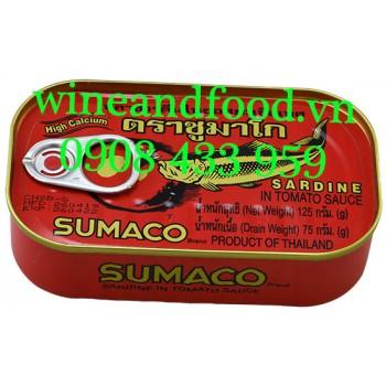 Cá mòi Sardine sốt cà chua đóng hộp Sumaco 125g