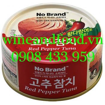 Cá Ngừ cay đóng hộp Red Pepper Tuna No Brand N205 150g