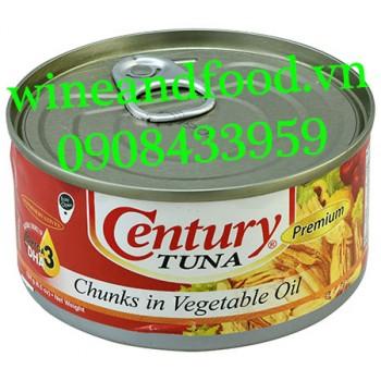 Cá Ngừ xé vụn ngâm dầu Century Tuna 184g