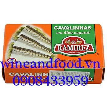 Cá nục ngâm dầu Ramirez 125g