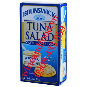 Salad cá ngừ bánh quy Brunswick 86g