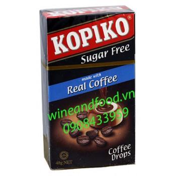 Kẹo cà phê Kopiko không đường hộp 40g
