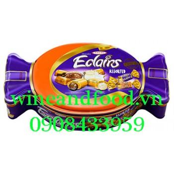 Kẹo Caramel Cacao sữa Eclairs Tayas Assorted 600g