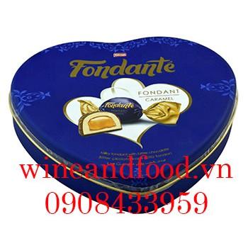 Kẹo Caramel Fondante trái tim 300g