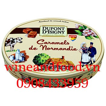 Kẹo Caramels de Normandie Dupont D'isigny 240g