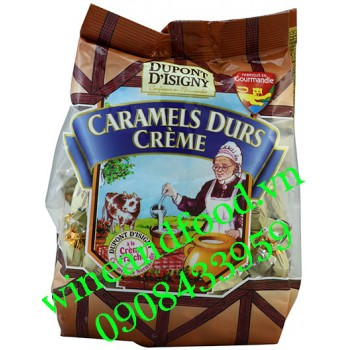 Kẹo Caramels Durs Creme Dupont D'Isigny bịch 250g