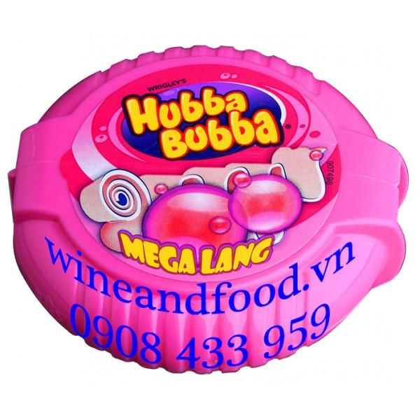 Kẹo gum Hubba Tape Mega Lang 56g