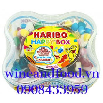 Kẹo dẻo Haribo Happy Box 600g