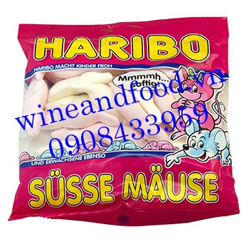 Kẹo dẻo Haribo Susse Mause 200g