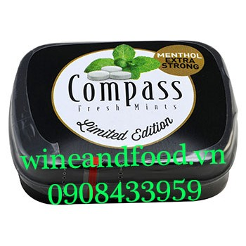 Kẹo ngậm Compass Menthol Extra Strong Limited Edition 14g