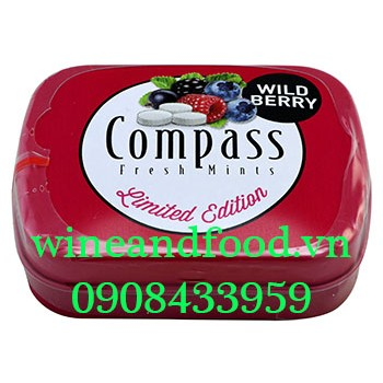 Kẹo ngậm Compass Wildberry Limited Edition 14g