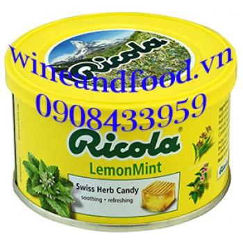 Kẹo Ricola Lemon mint 100g