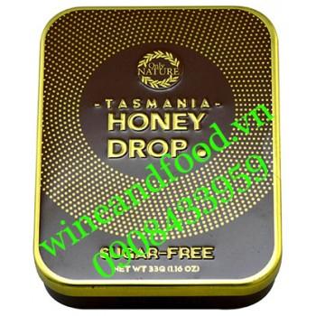 Kẹo sả mật ong Tasmania honey drop Only Nature hộp thiếc 33g