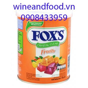 Kẹo Fox's trái cây 180g