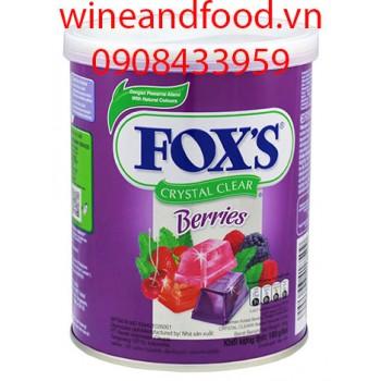 Kẹo Fox's trái cây ôn đới 180g