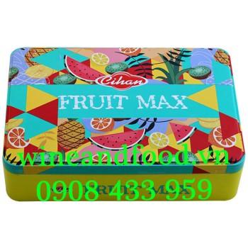 Kẹo mềm trái cây Fruit Max Cihan hộp thiếc 250g