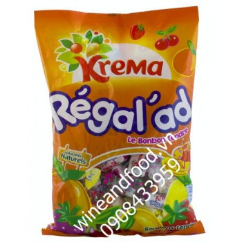 Kẹo mềm trái cây hỗn hợp Krema 360g