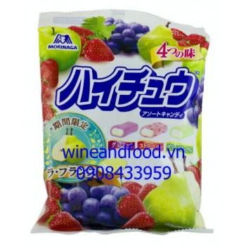 Kẹo mềm trái cây hỗn hợp Uha Nhật Bản 100g