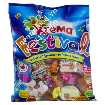 Kẹo mềm trái cây Krema 360g