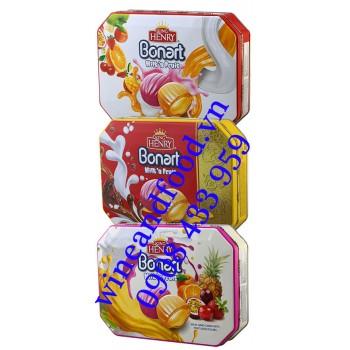 Kẹo trái cây Bonart Milk'n Fruit King Henry 350g