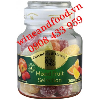 Kẹo trái cây Cavendish & Harvey mixed Fruit Selection 300g