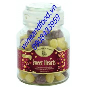 Kẹo trái cây chanh dây vani Sweet Hearts 350g