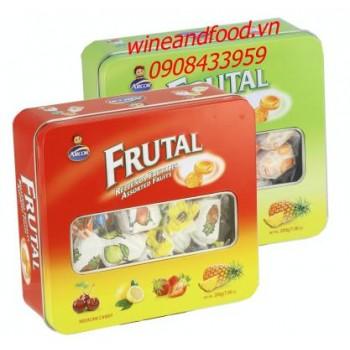 Kẹo trái cây hỗn hợp Fruital Arcor 200g