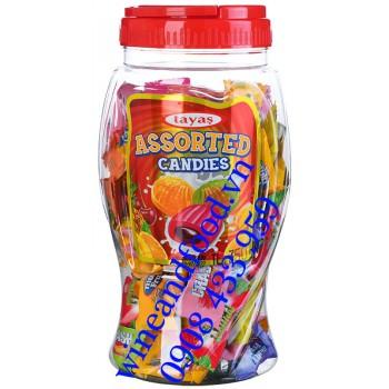 Kẹo trái cây hỗn hộp Tayas 350g