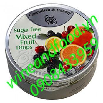 Kẹo trái cây không đường Cavendish & Harvey 175g
