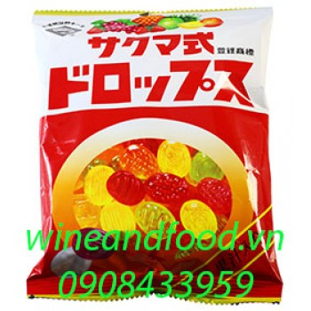 Kẹo trái cây Sakuma's Drops 120g