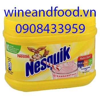 Bột socola Nesquik dâu 300g