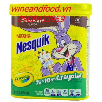 Bột socola Nesquik Nestle 618g